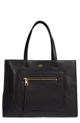 Vince Camuto Elvan Leather Tote Black