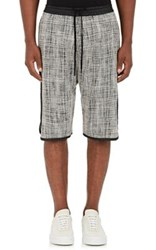 Public School Men's Melange Basketball Shorts Black