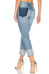 Joe's Jeans The Debbie Straight Ankle Destructed Light Blue