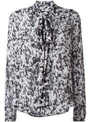 Mcq By Alexander Mcqueen Pony Print Shirt Grey