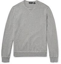Incotex Cotton Sweater Gray