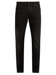 Dolce And Gabbana Five Pocket Skinny Jeans Black