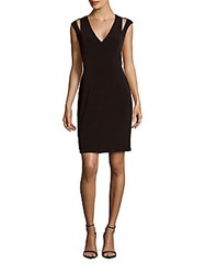 Calvin Klein Empire Waist Sleeveless Dress Black