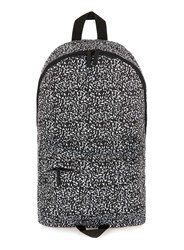 Topman Black And White Leopard Print Backpack