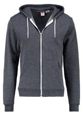 American Apparel Tracksuit Top Dark Heather Grey Dark Grey