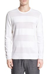 Men's Kenneth Cole New York Solid And Mesh Stripe Sweater