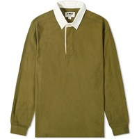 Ymc The Swerve Rugby Shirt Green