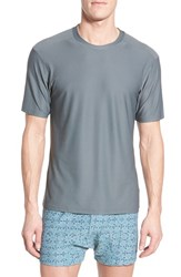 Men's Exofficio 'Give N Go' Mesh Crewneck T Shirt Charcoal