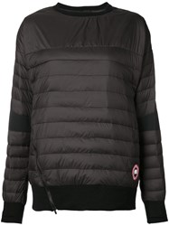 Canada Goose Bowron Top Women Polyester Down M Black