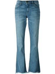 Current Elliott 'Superloved' Bootcut Jeans Blue