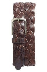 Martin Dingman Men's Leonardo Braided Leather Belt