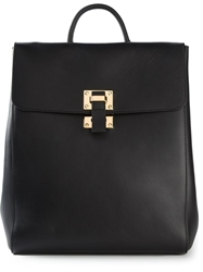 Sophie Hulme Structured Backpack