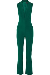 Cushnie Et Ochs Stretch Cady Jumpsuit Emerald