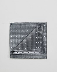 French Connection Pocket Square Grey