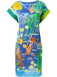 Tsumori Chisato Sea Life Print Dress Multicolour
