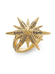 Louise Et Cie Micro Pave Star Ring