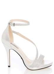 00ef243580a Dorothy Perkins Quiz Silver Strap Heeled Sandals