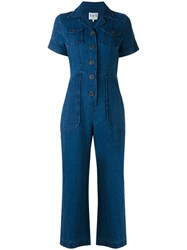Sea Farrah Jumpsuit Women Linen Flax 6 Blue