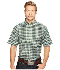 Cinch Athletic Plaid Short Sleeve Multicolored Men's Clothing