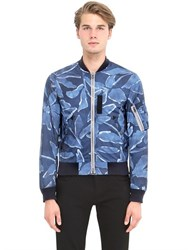 Burberry Printed Bomber Jacket