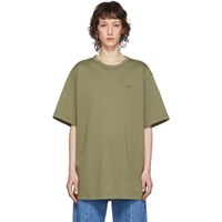 Juun.J Khaki Graphic T Shirt
