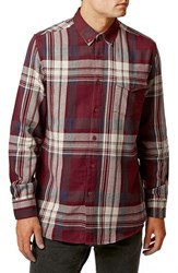 Men's Topman Check Long Sleeve Shirt