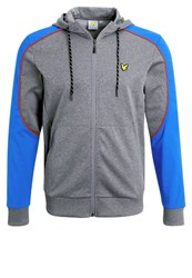 Lyle And Scott Hurst Tracksuit Top Mid Grey