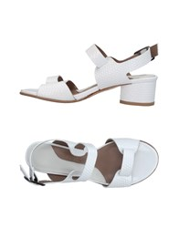 Audley Sandals White