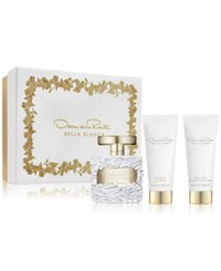 Oscar De La Renta 3 Pc. Bella Blanca Gift Set No Color