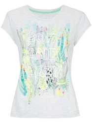 Marc Cain Soft And Lazy T Shirt Grey