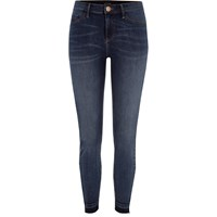 River Island Womens Dark Blue Authentic Molly Skinny Jeggings