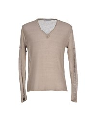 Hamaki Ho Knitwear Jumpers Men Dove Grey