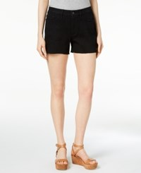 Calvin Klein Jeans Denim Shorts Black Magic