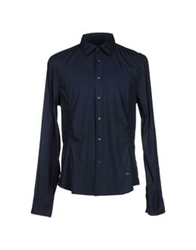 Dekker Shirts Dark Blue
