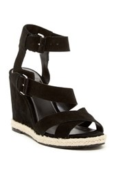 Marc Fisher Karla Wedge Sandal Black