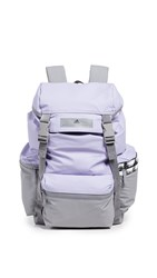 Adidas By Stella Mccartney Backpack Iced Lavender Solid Grey White