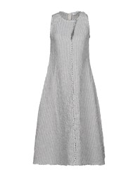 New York Industrie Knee Length Dresses White