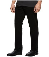 Liverpool Relaxed Straight Stretch Denim In Black Rinse Black Rinse Men's Jeans