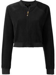 Juicy Couture Cropped Zipped Jacket Black