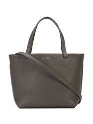 The Row Small Tote Bag Grey