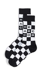 Marc Jacobs The Logo Socks Black Multi