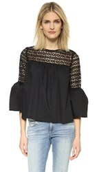 Endless Rose Boho Blouse Black