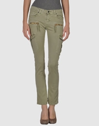 Denim Mood Casual Pants Military Green