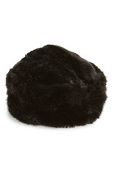 Ted Baker Faux Fur Hat Black