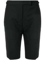 Thom Browne Grosgrain Tipping Skinny Short Black