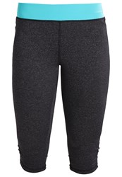 Evenandodd Active 3 4 Sports Trousers Viridian Green Turquoise