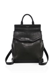 Rag And Bone Pilot Ii Leather Backpack Black