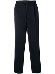 Lc23 Straight Leg Trousers Blue
