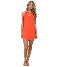 Bcbgeneration Scout The Ciao For Now Tank Dress Salmon Wine Women's Pajama Orange