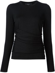 Derek Lam Round Neck Jumper Black